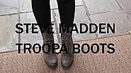 3 Fall Outfits with the Steve Madden Troopa Boots!
