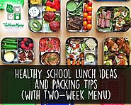 Healthy School Lunch Ideas and Packing Tips | Wellness Mama