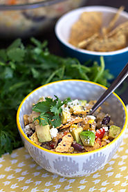 Southwest Quinoa with Honey-Lime Vinaigrette - livelovepasta