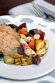 Rainbow Roasted Root Vegetables - livelovepasta