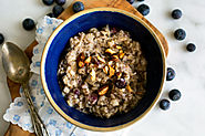 Oats With Amaranth, Chia Seeds and Blueberries Recipe
