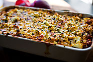 Roasted Cauliflower Gratin With Tomatoes and Goat Cheese Recipe