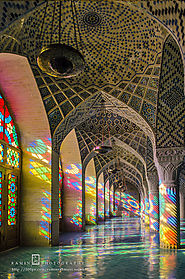 15 Amazing Photos of Nasir ol Mulk Mosque in Shiraz Iran!!
