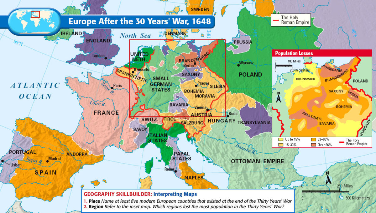 Headline for The 30 Years War on European Expansion