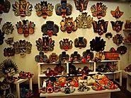 Visit a Traditional Mask Shop and Museum