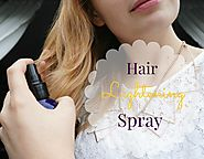 DIY finishing Hair Lightening spray