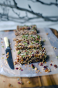 Quinoa, fruit, and nut bars