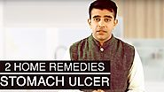 2 Effective Home Remedies For STOMACH ULCERS Treatment