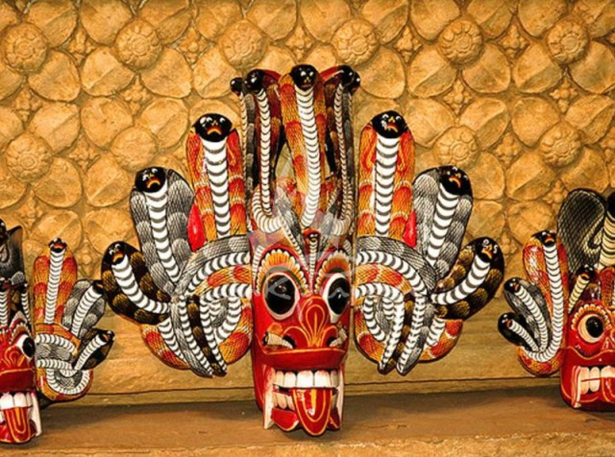 Headline for 6 Types of Traditional Masks in Sri Lanka – Island Secrets