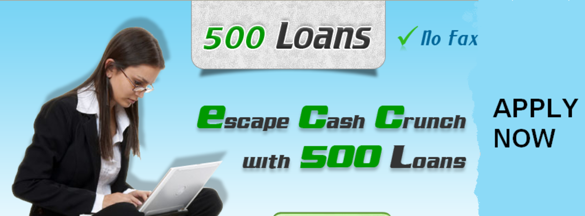 Headline for 500 Payday Loans