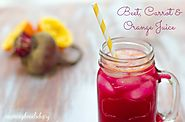 Beet, Carrot & Orange Juice