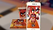 New Angry Birds uses QR-like 'BirdCodes' to blur the lines between game, film, and brands