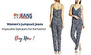 For the Fashion Focused Women's Jumpsuit Jeans with Impeccable Style