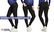 Charming Jeans for Maternity Fashion: Women's Maternity Jeans