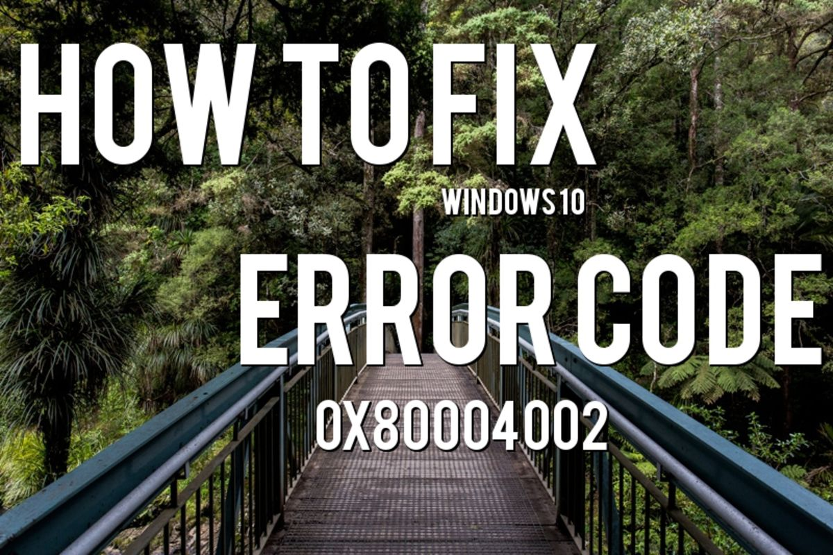 Headline for How to Fix Windows 10 Error Messages When they Arise