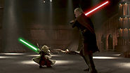 Yoda vs Count Dooku