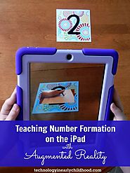 Augmented Reality in the Classroom: Writing Numbers 1 through 9 - Technology In Early Childhood