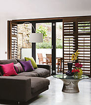 Wooden Shutters by Creative Curtains