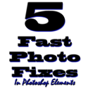 5 Fast Photo Fixes in Photoshop Elements