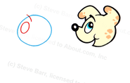 Draw a Cute Puppy Dog Cartoon