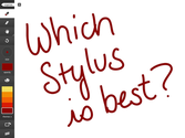 What's the Best iPad Stylus for Touch Screen Tablets?