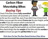 Best Carbon Fiber Mountain Bikes Reviews - Tackk