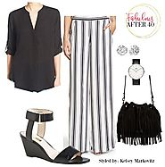 Bold New Ways to Wear Black and White Stripes
