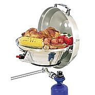 Magma Marine Kettle 2 Combination Stove and Gas Grill, Original Size