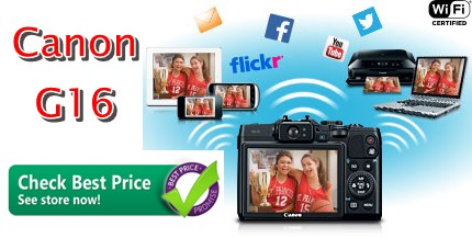 Headline for Canon G16. Get Best Price Camera & Parts Sale