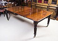Antique Regency Mahogany Gillows Style Dining Table c.1820