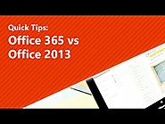 Office 365 vs Office 2013 – What is the difference?