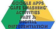 "Google Apps ""GAFE Smashing"" activities — Part 2: Digital Differentiation"