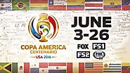 Copa America Centenario commentators List Announces By FOX Sports - COPA America Centenario 2016 Schedule