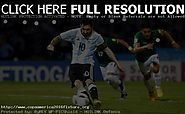 Watch International Friendly Live: Argentina vs Honduras live streaming and TV information - COPA America Centenario ...