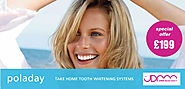 How does home teeth whitening work?