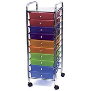 Best 10 Drawer Rolling Cart -Mobile Organizer and Storage Cart (with image) · Bizt