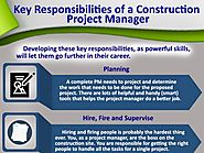 Key Responsibilities of a Construction Project Manager