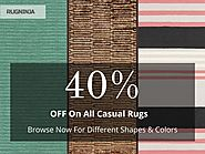 Beautiful casual rugs at very affordable prices