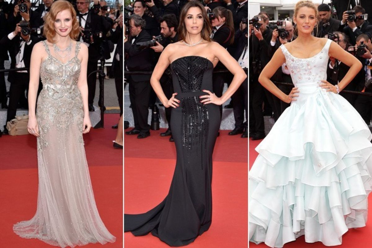 Headline for List of Best Dressed Celebrities at Cannes Red Carpet 2016