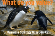 Business Strategy Question #05: What do you value?