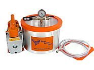 2 Gallon Vacuum Chamber & 3 CFM Single Stage Vacuum Pump