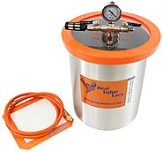 3 Gallon Stainless Steel Vacuum & Degassing Chamber