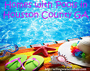 Houston County GA Homes with Pools in May 2016