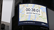 JetBlue's Times Square Billboard Calculates Your Exact Travel Time to a Dream Destination