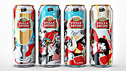 Stella Artois' Special Cans for the Cannes Film Festival Are a Story in Themselves