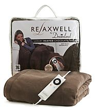 Heated Throws: Available with Intelliheat - Chocolate