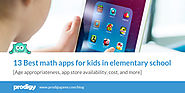 13 Best Math Apps for Kids in Elementary School | Prodigy