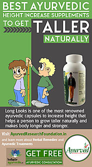 Best Ayurvedic Height Increase Supplements to Get Taller Naturally