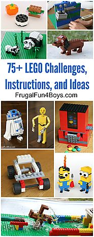 50+ Lego Building Projects for Kids - Frugal Fun For Boys