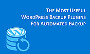 The Most Useful WordPress Backup Plugins For Automated Backup
